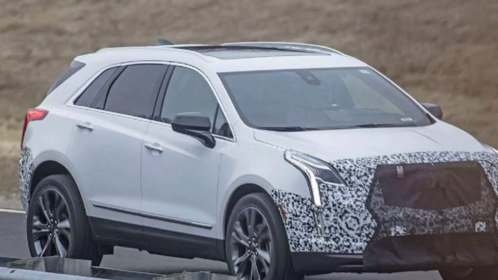 20 Great Spy Shots Cadillac Xt5 Configurations with Spy Shots Cadillac Xt5