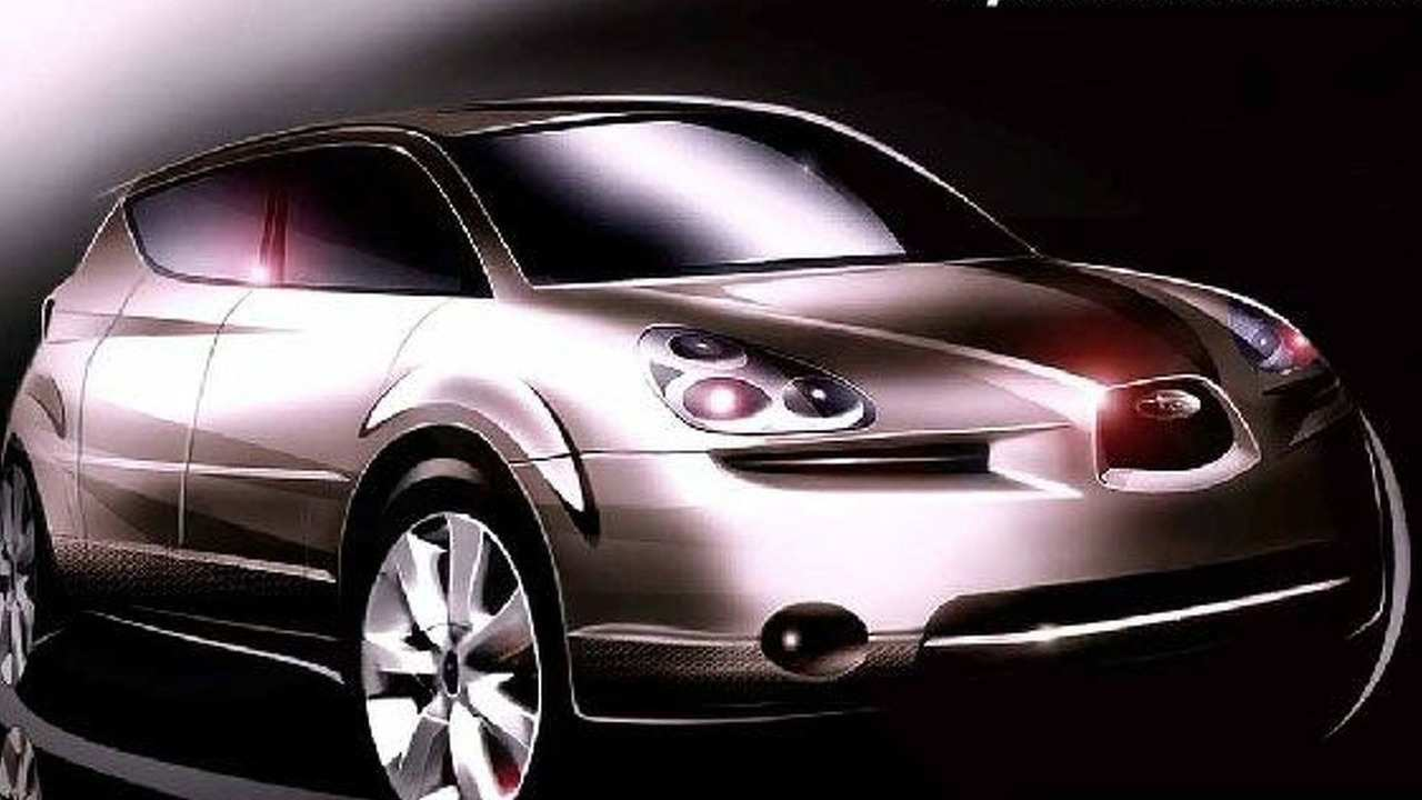 31 Best Review Subaru Tribeca Concept Images by Subaru Tribeca Concept