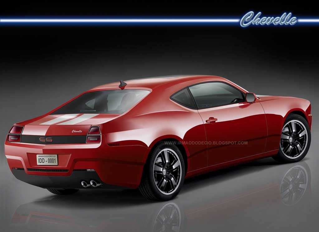44 New Chevelle Ss Concept Spy Shoot with Chevelle Ss Concept
