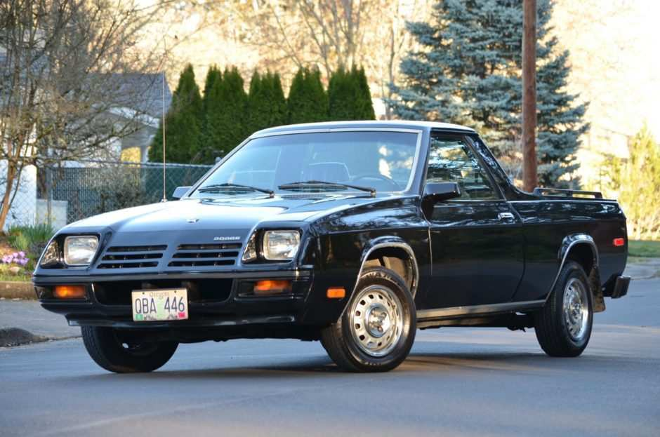 64 Concept of 82 Dodge Rampage Release by 82 Dodge Rampage