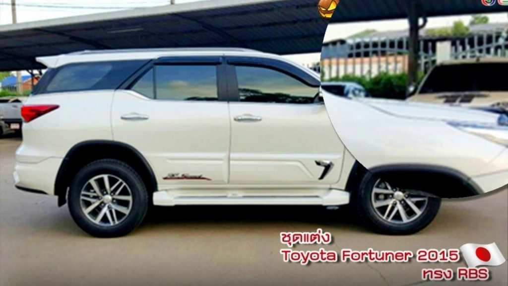 77 Concept of Toyota Fortuner 2020 Exterior with Toyota Fortuner 2020