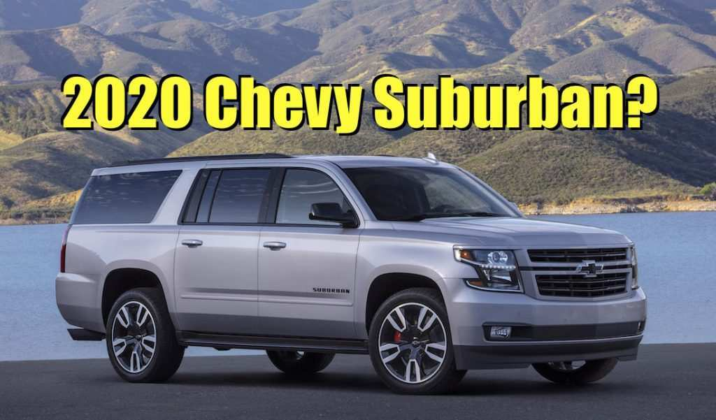83 New 2020 Chevy Tahoe Concept Release Date with 2020 Chevy Tahoe Concept