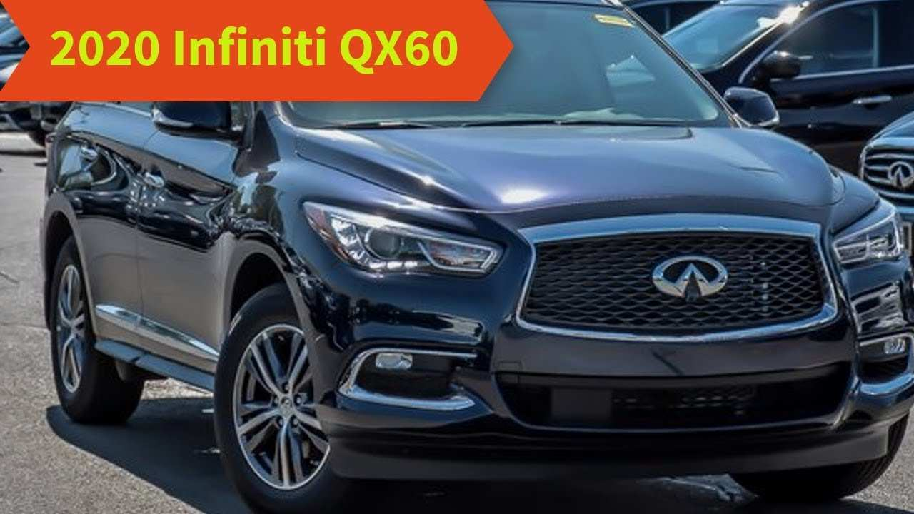 85 Concept of 2020 Qx60 Release Date with 2020 Qx60