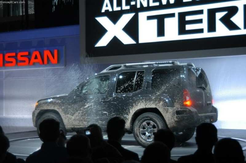 87 The Xterra Concept Interior with Xterra Concept