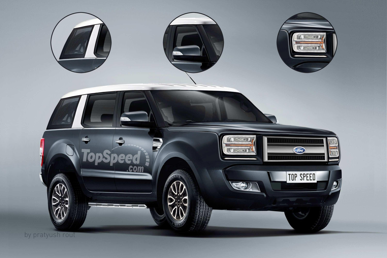 90 Concept of Ford Troller Spy Shoot for Ford Troller