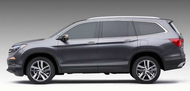 94 Best Review 2018 Honda Pilot Spy Photos Rumors with 2018 Honda Pilot Spy Photos
