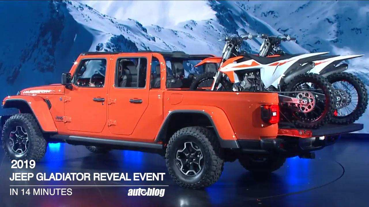 11 All New 2020 Jeep Gladiator Video Release Date with 2020 Jeep Gladiator Video