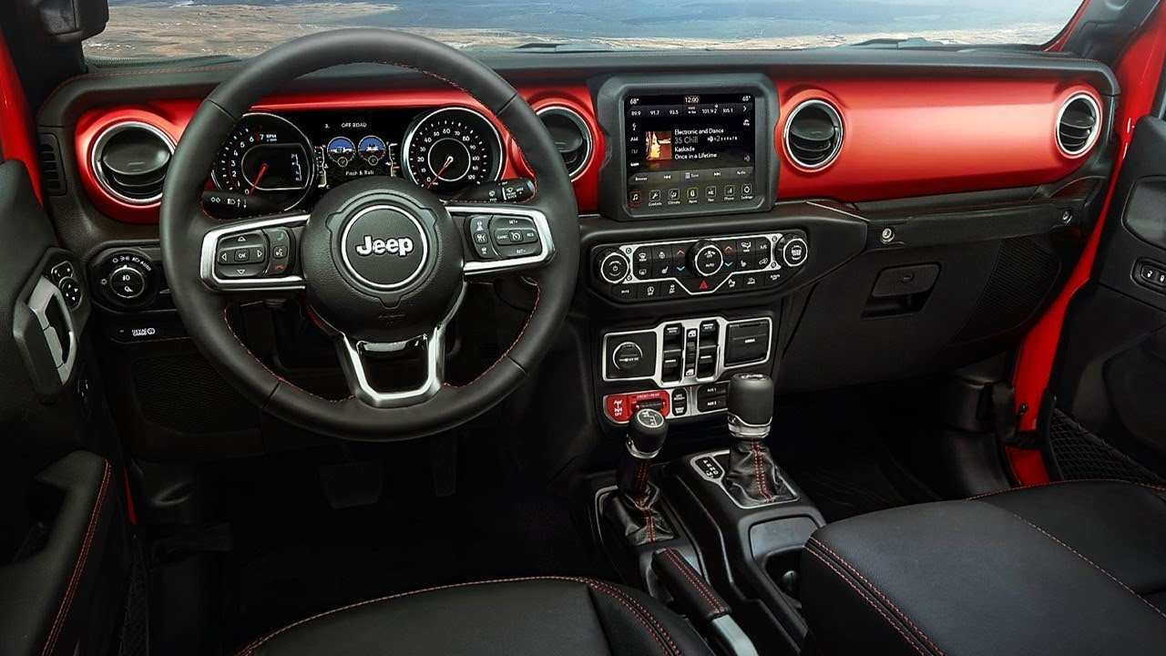 11 Best Review 2020 Jeep Gladiator Interior Concept for 2020 Jeep Gladiator Interior
