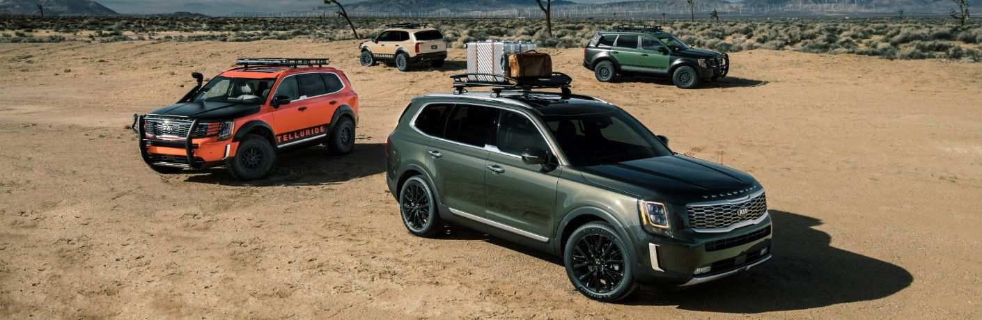 12 All New 2020 Kia Telluride Trim Levels Interior for 2020 Kia Telluride Trim Levels