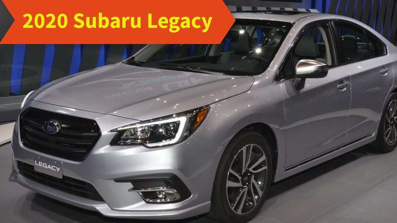 12 Great 2020 Subaru Legacy Youtube Price and Review by 2020 Subaru Legacy Youtube