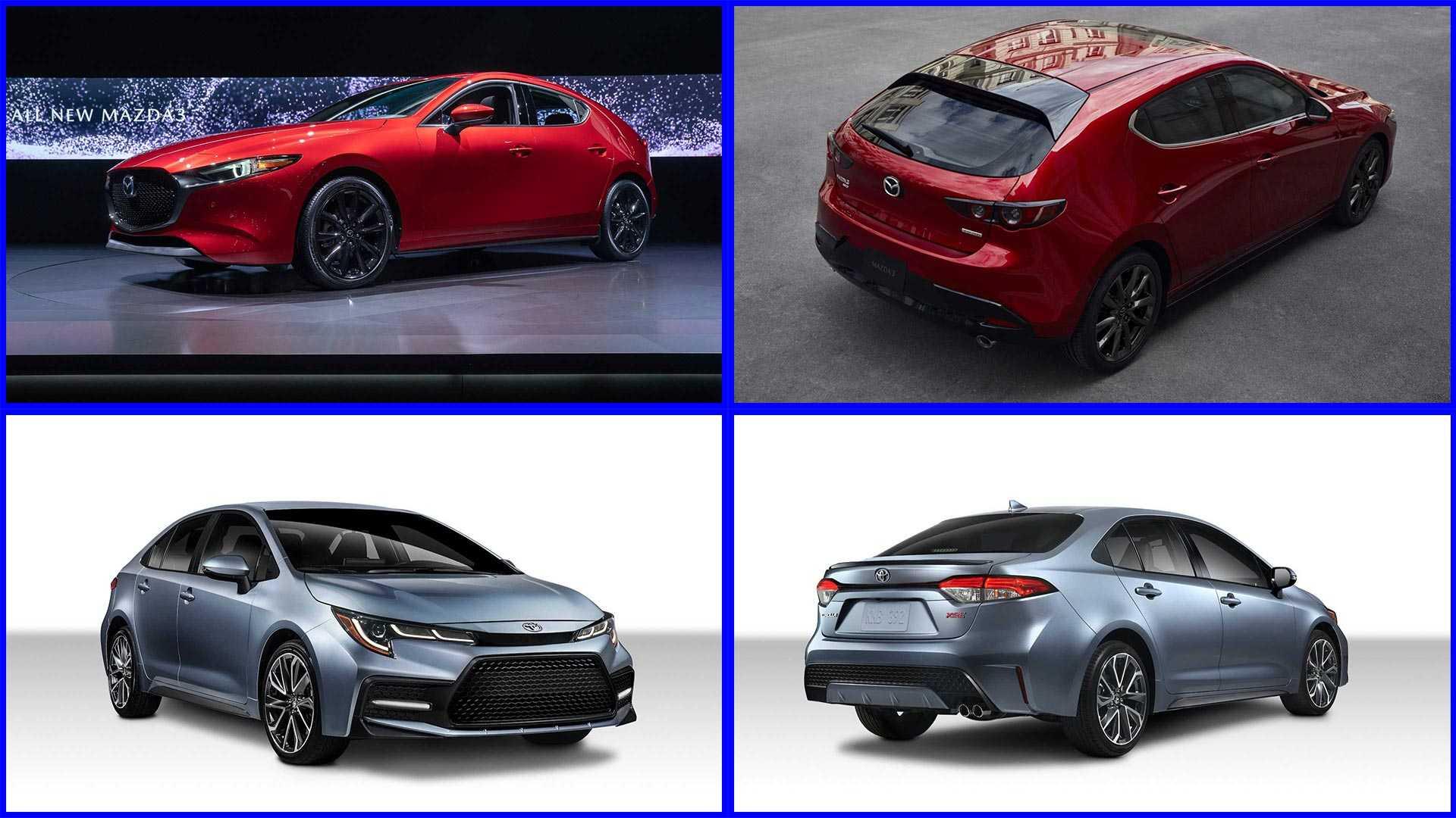 12 Great Corolla 2020 Vs Mazda 3 Images with Corolla 2020 Vs Mazda 3