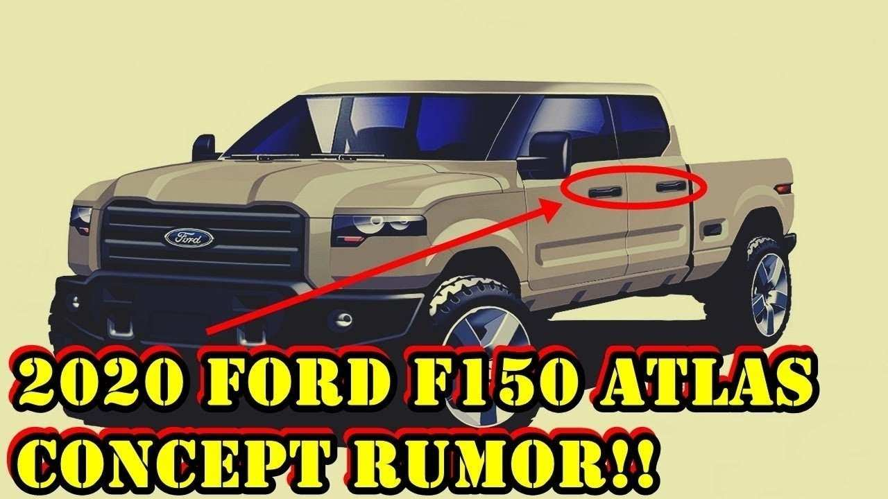 12 New 2020 Ford F150 Concept Performance and New Engine by 2020 Ford F150 Concept