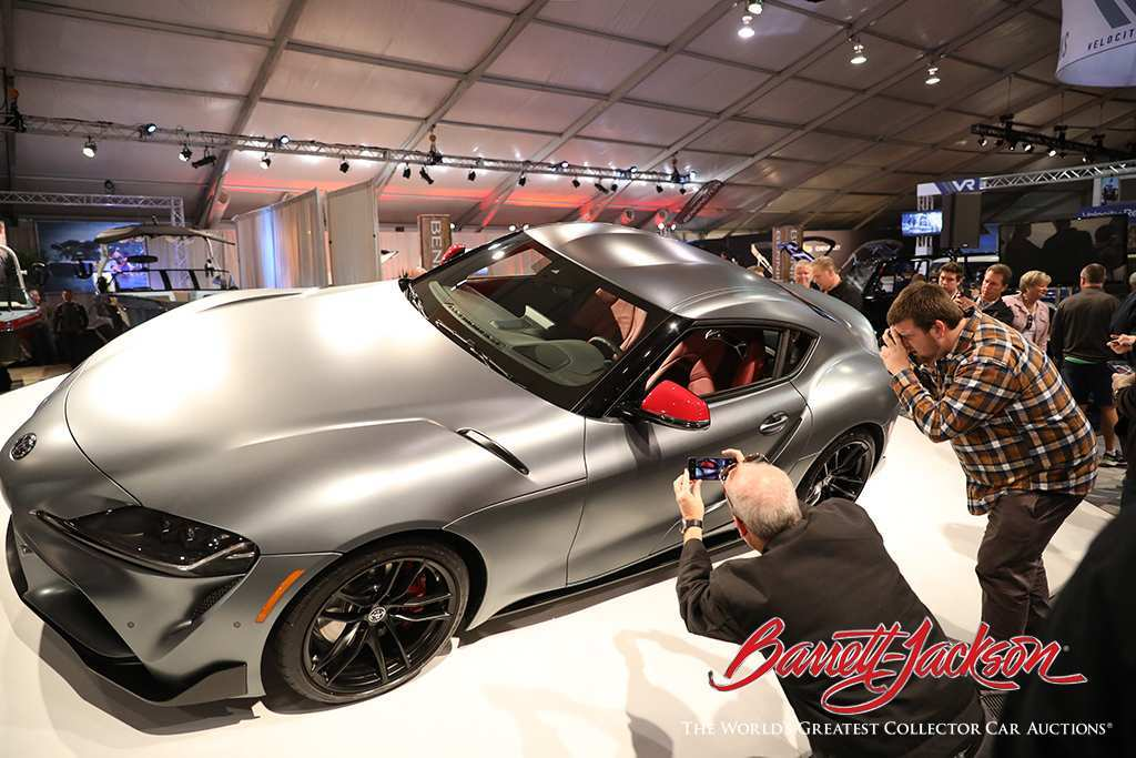 13 Best Review Who Bought The 2020 Toyota Supra At Barrett Jackson Configurations by Who Bought The 2020 Toyota Supra At Barrett Jackson