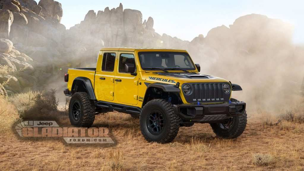 13 Concept of 2020 Jeep Gladiator V8 Configurations for 2020 Jeep Gladiator V8
