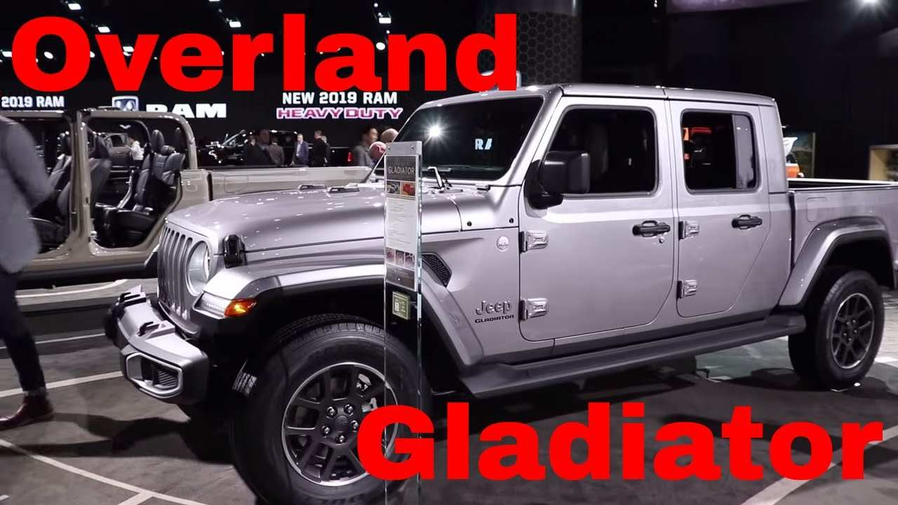 14 Best Review 2020 Jeep Gladiator Overland Youtube Prices by 2020 Jeep Gladiator Overland Youtube