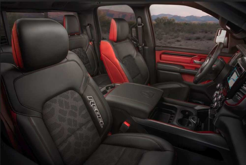 17 New 2020 Dodge Ram Interior New Review with 2020 Dodge Ram Interior