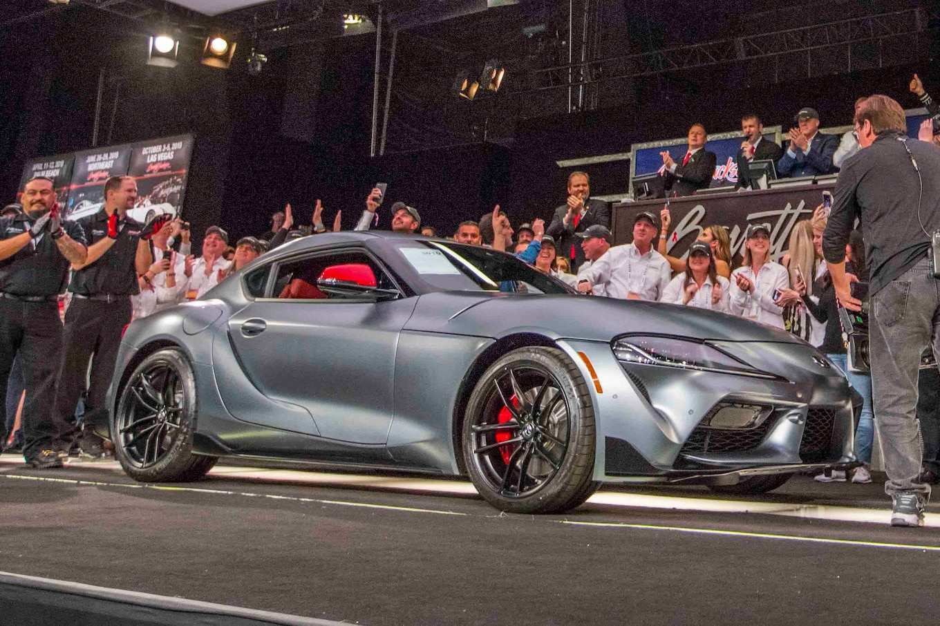 18 All New Who Bought The 2020 Toyota Supra At Barrett Jackson Rumors with Who Bought The 2020 Toyota Supra At Barrett Jackson