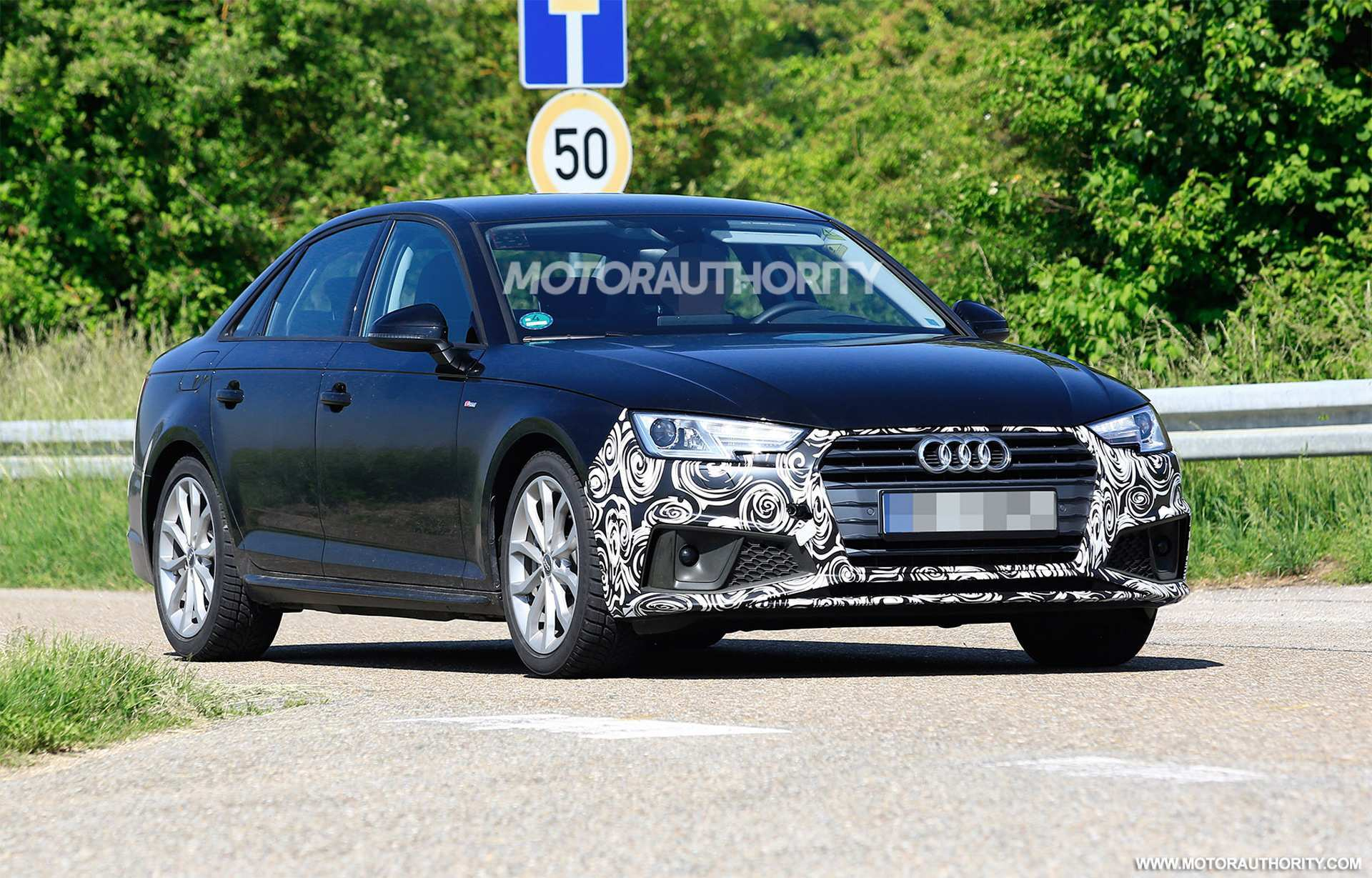 18 Great Audi A4 2020 Spy Shoot for Audi A4 2020