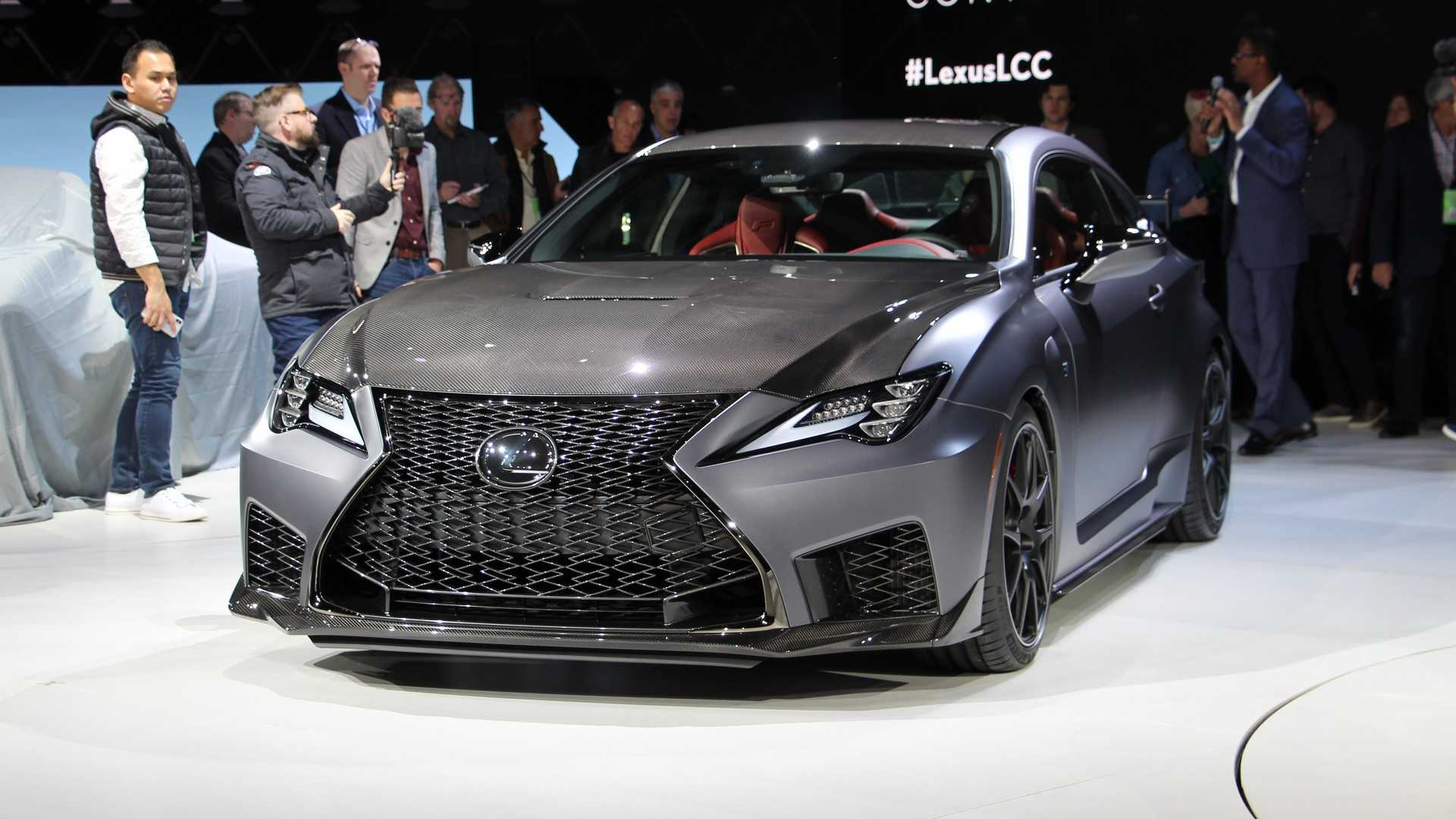 18 The 2020 Lexus Rc F Track Edition Overview with 2020 Lexus Rc F Track Edition