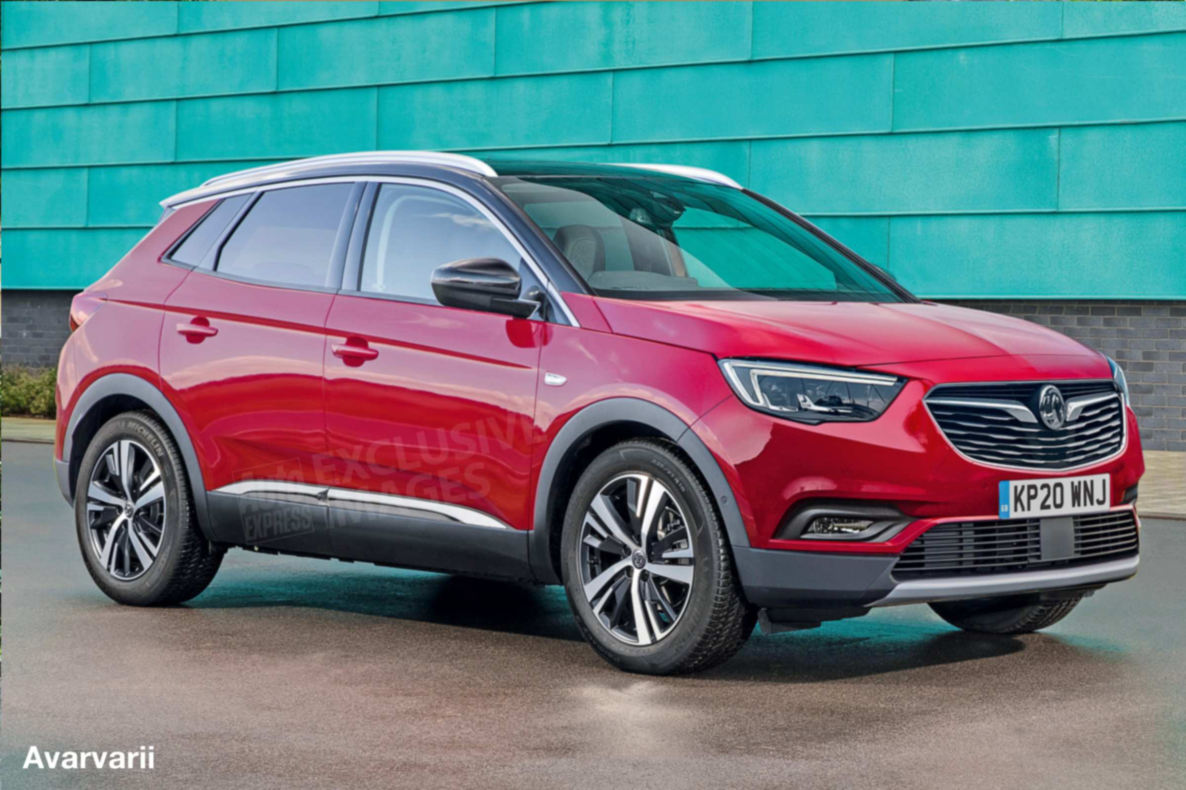 18 The Nuova Opel Mokka X 2020 Configurations with Nuova Opel Mokka X 2020
