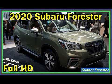 20 The Subaru Forester Xt 2020 Spy Shoot by Subaru Forester Xt 2020