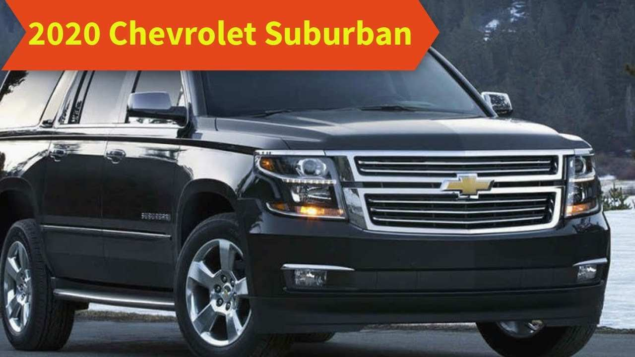 21 The 2020 Chevrolet Suburban Release Date Model by 2020 Chevrolet Suburban Release Date