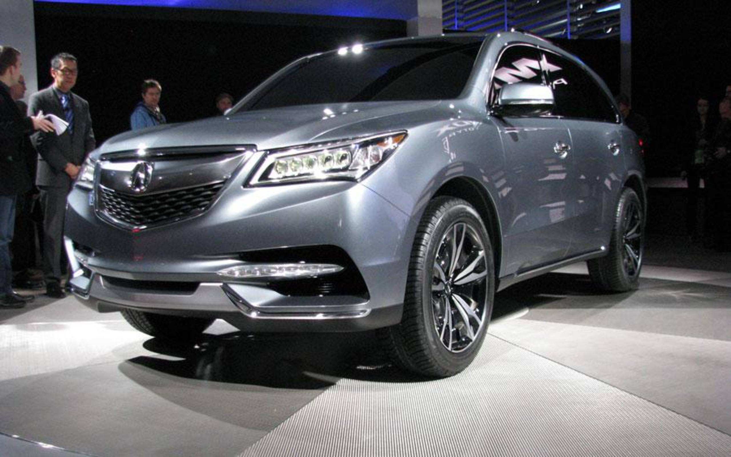 23 The 2020 Acura Mdx Detroit Auto Show Rumors for 2020 Acura Mdx Detroit Auto Show