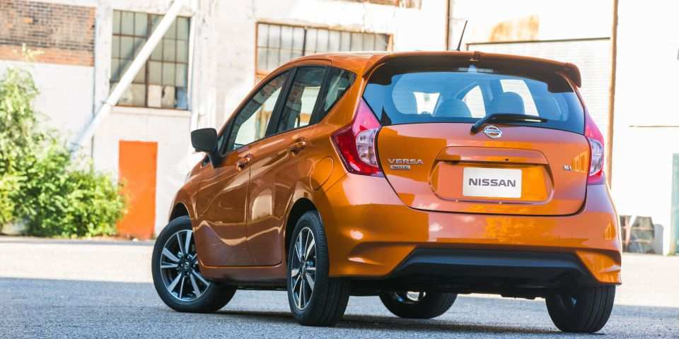 24 All New 2020 Nissan Versa Hatchback Ratings for 2020 Nissan Versa Hatchback