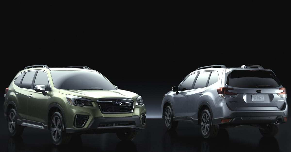 24 All New Subaru Forester 2020 Colors Interior by Subaru Forester 2020 Colors