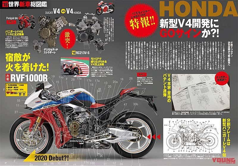 25 All New Honda V4 Superbike 2020 Interior for Honda V4 Superbike 2020