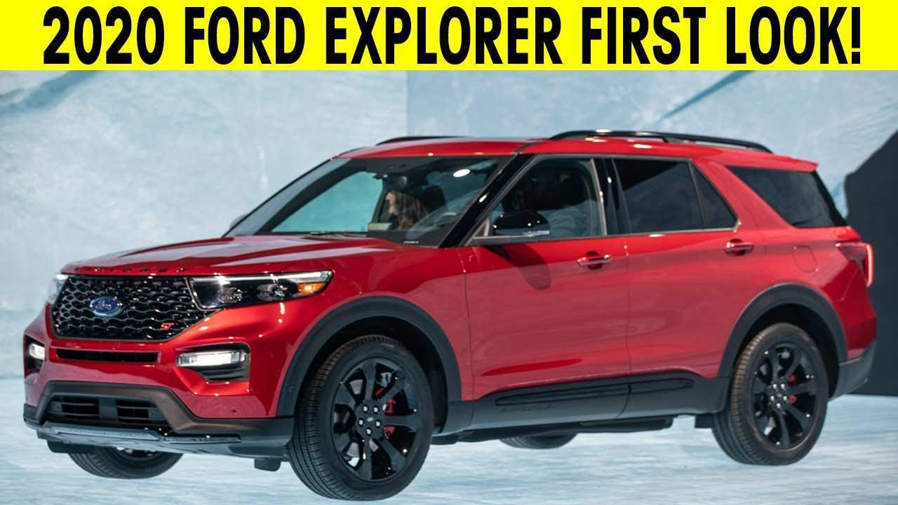 25 The Ford New Explorer 2020 Photos by Ford New Explorer 2020
