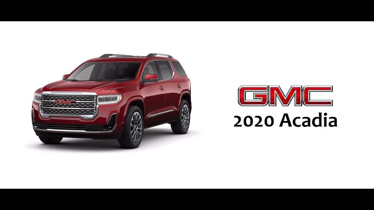 26 All New 2020 Gmc Acadia Length History by 2020 Gmc Acadia Length