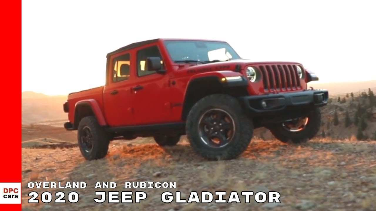 26 Great 2020 Jeep Gladiator Overland Youtube New Review for 2020 Jeep Gladiator Overland Youtube