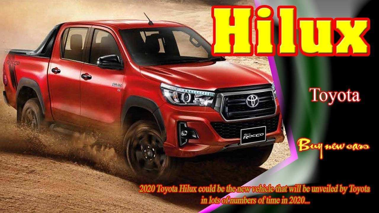 27 All New Toyota Hilux 2020 Model Performance and New Engine by Toyota Hilux 2020 Model