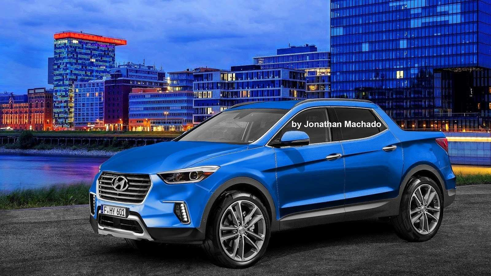 27 Concept of Hyundai Pickup 2020 Redesign and Concept for Hyundai Pickup 2020