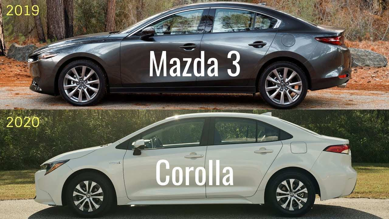 27 The Corolla 2020 Vs Mazda 3 Specs and Review by Corolla 2020 Vs Mazda 3