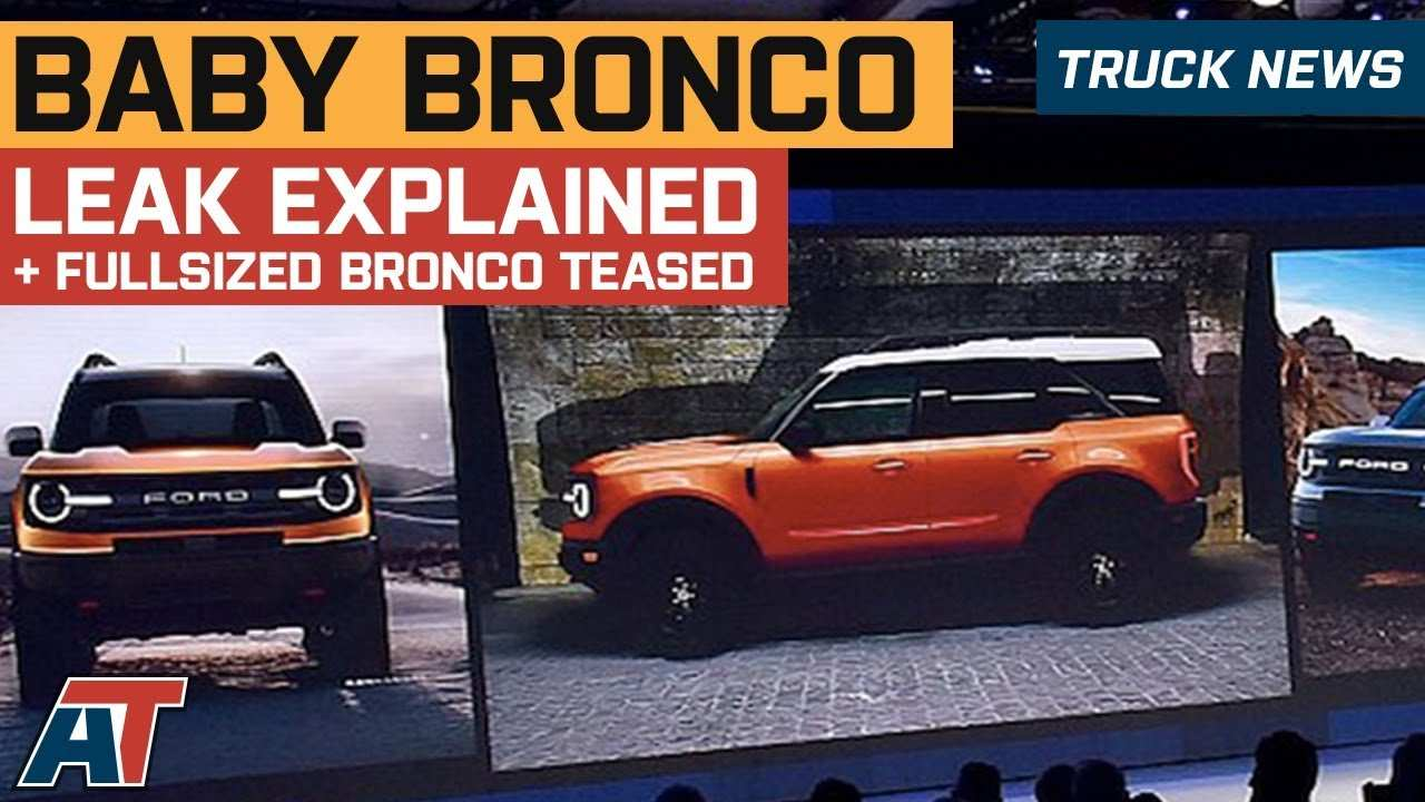28 Great 2020 Ford Bronco Leaked Images by 2020 Ford Bronco Leaked