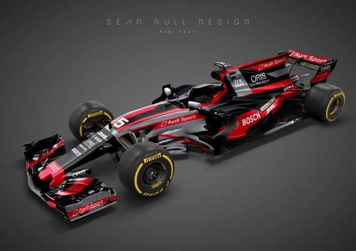 28 New Audi F1 2020 Speed Test by Audi F1 2020