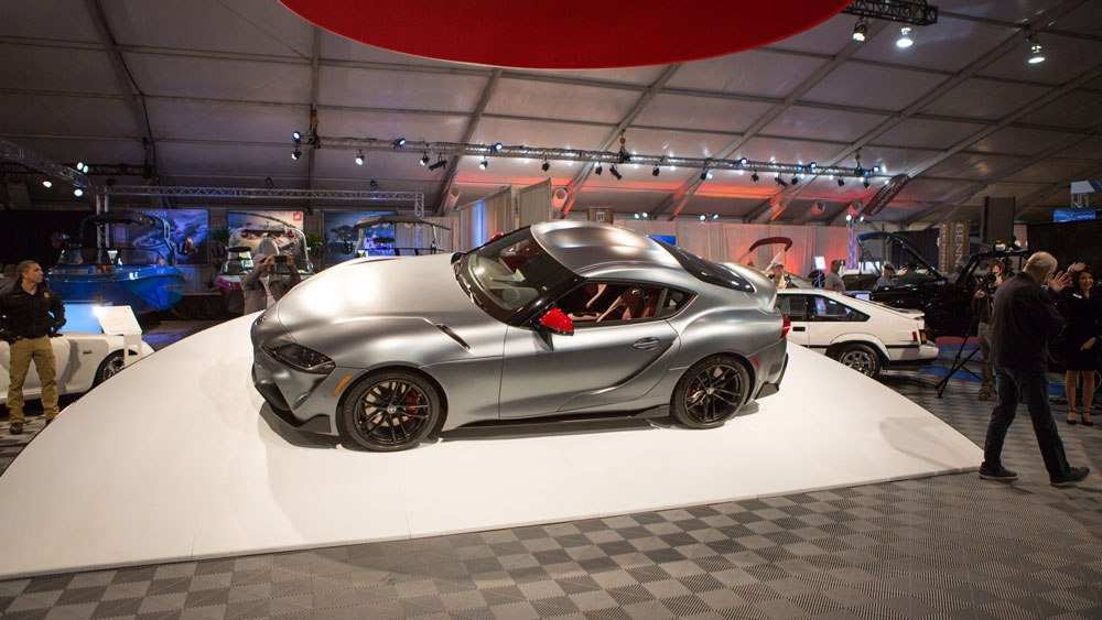 28 New Who Bought The 2020 Toyota Supra At Barrett Jackson Configurations for Who Bought The 2020 Toyota Supra At Barrett Jackson