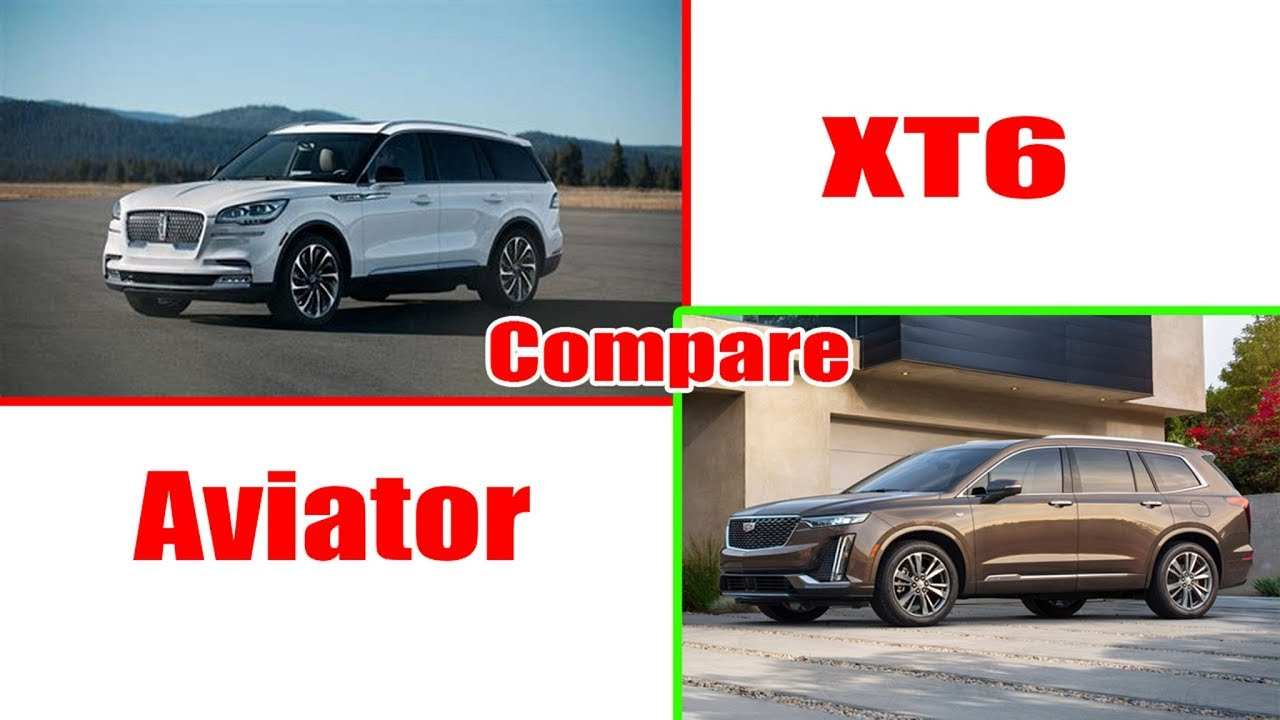 28 The 2020 Lincoln Aviator Vs Cadillac Xt6 Exterior with 2020 Lincoln Aviator Vs Cadillac Xt6