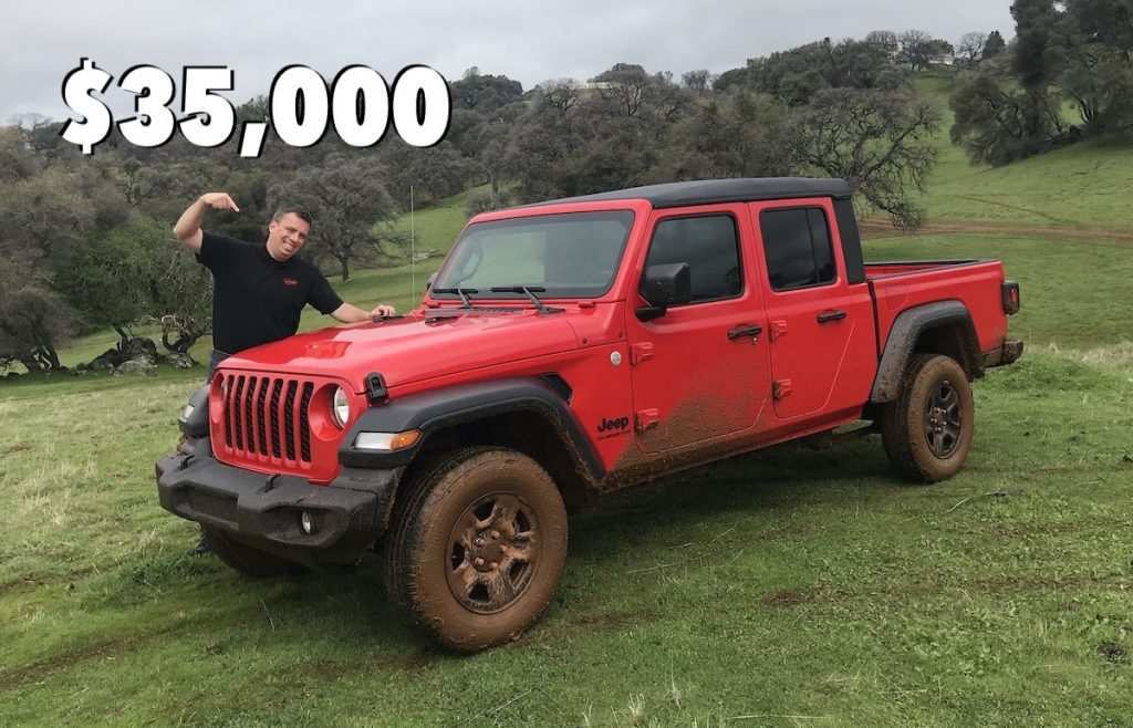 30 New Price Of 2020 Jeep Gladiator Price and Review for Price Of 2020 Jeep Gladiator