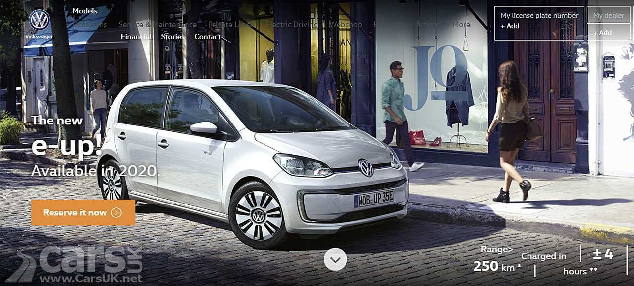 31 New Volkswagen E Up 2020 Rumors for Volkswagen E Up 2020
