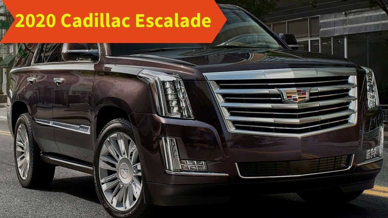 32 All New 2020 Cadillac Escalade Youtube Redesign and Concept with 2020 Cadillac Escalade Youtube