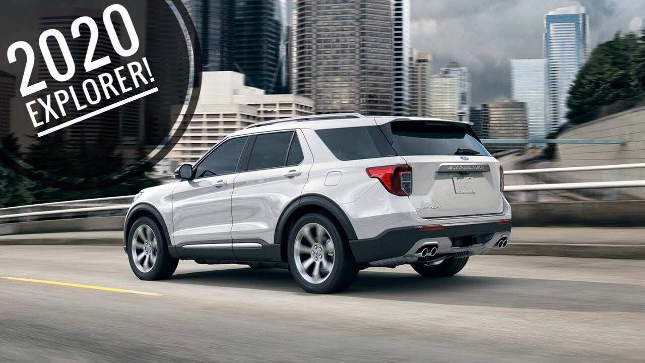 33 Great 2020 Ford Explorer St Youtube Interior by 2020 Ford Explorer St Youtube
