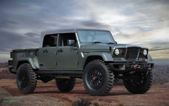 35 All New Jeep Comanche 2020 Reviews with Jeep Comanche 2020