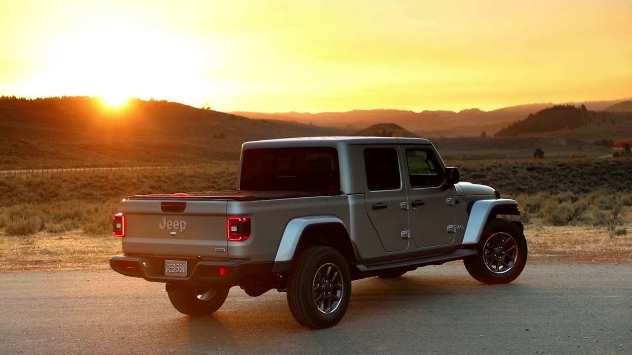 35 New 2020 Jeep Gladiator Overland Youtube Concept by 2020 Jeep Gladiator Overland Youtube