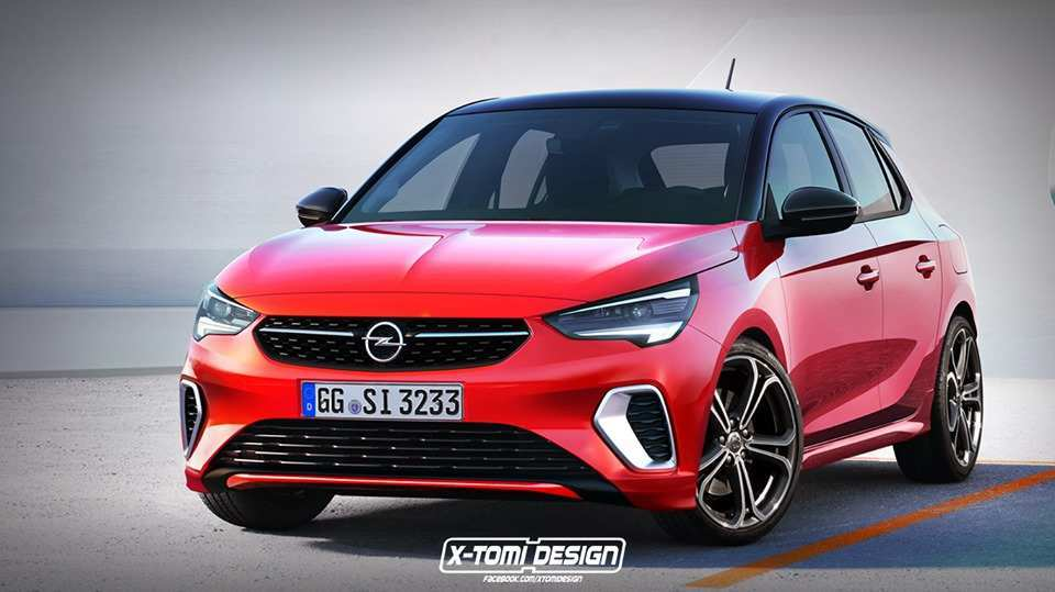 35 The Opel Corsa 2020 Rendering Pictures by Opel Corsa 2020 Rendering