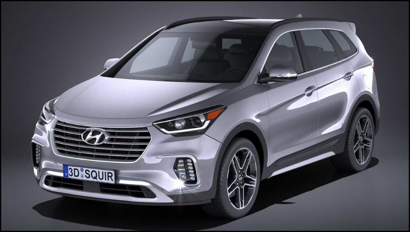 37 Concept of When Will The 2020 Hyundai Santa Fe Be Released Specs for When Will The 2020 Hyundai Santa Fe Be Released