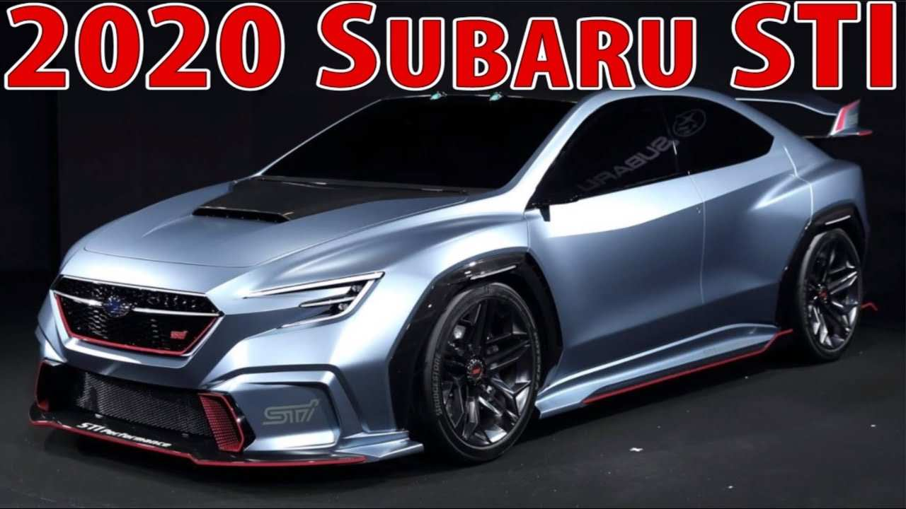 38 Great Subaru Sti 2020 Concept Performance for Subaru Sti 2020 Concept