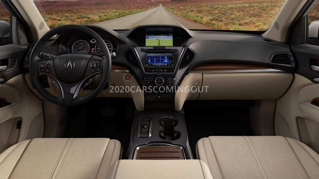 39 New 2020 Acura Mdx Interior Spy Shoot for 2020 Acura Mdx Interior